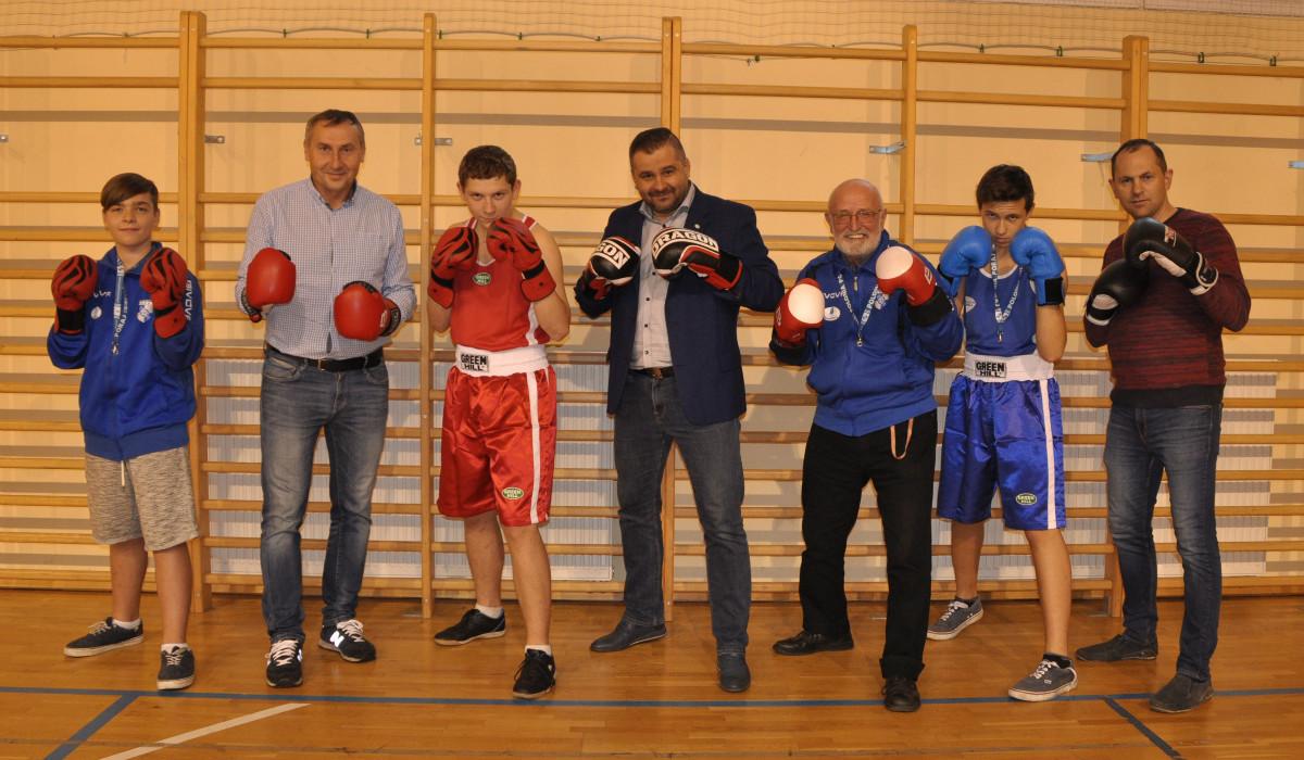 szkółka bokserska klubu LKS Polonia Poraj