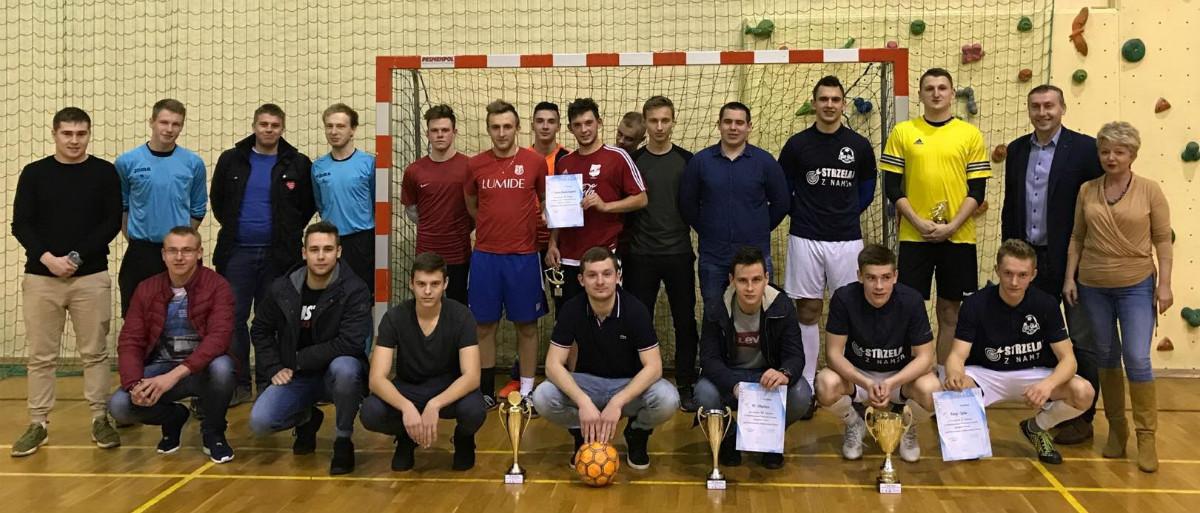 Noworoczny Halowy Turniej Piłki Nożnej Futsalu w Poraju