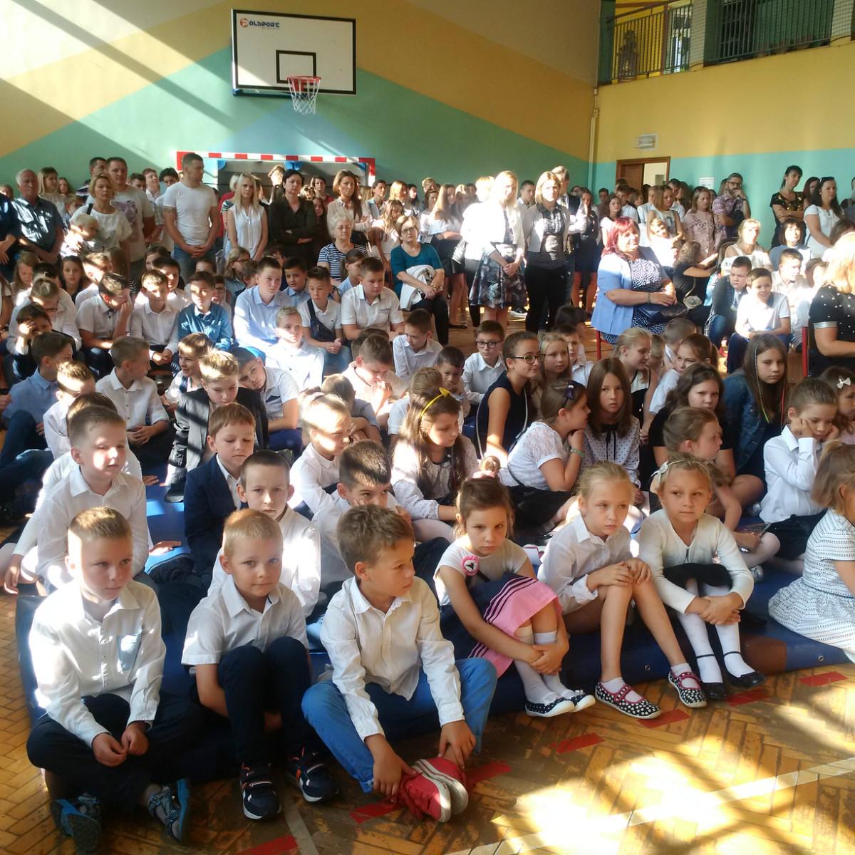 rozpoczęcie nowego roku szkolnego 2018/2019 w gminie poraj