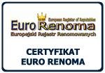 Certyfikat Euro Renoma